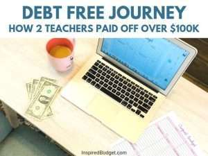 Debt Free Journey by InspiredBudget.com