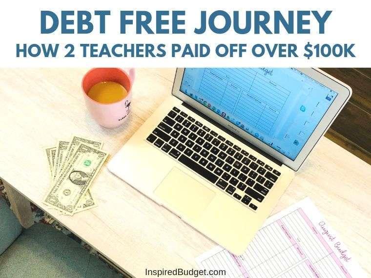 Debt Free Journey by InspiredBudget.com