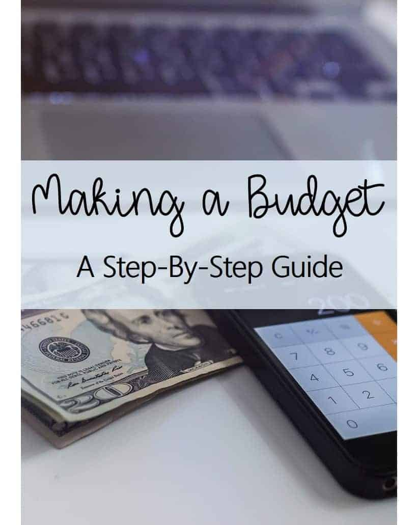 Making a Budget A Step-by-Step Guide