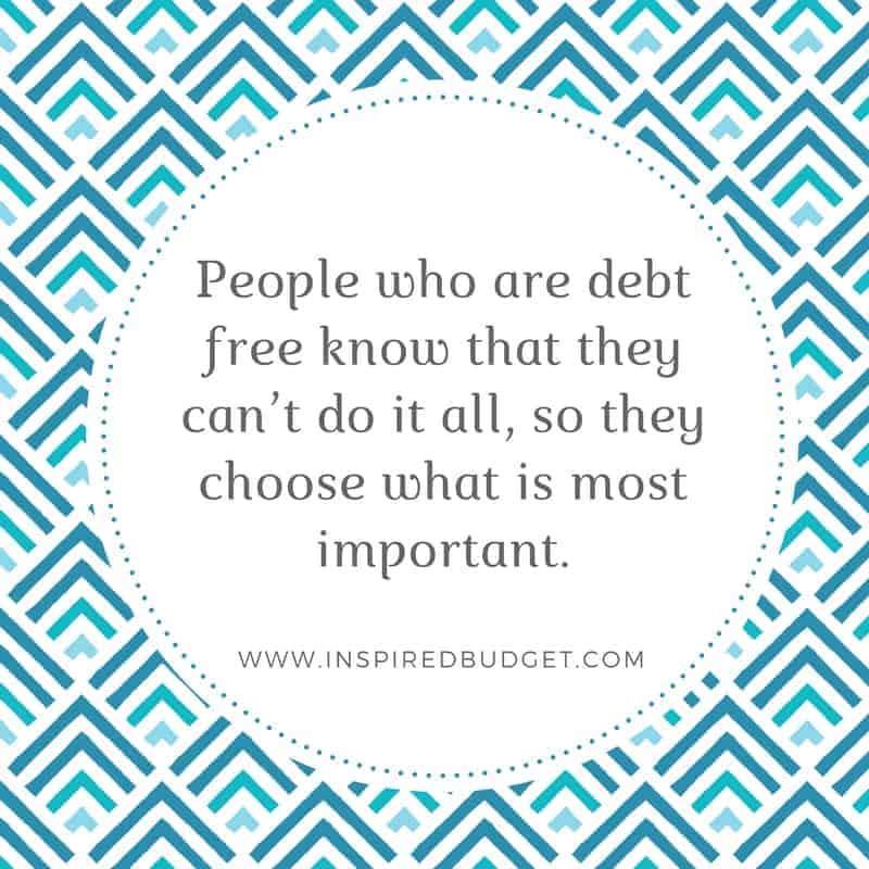 habits of debt free people quote