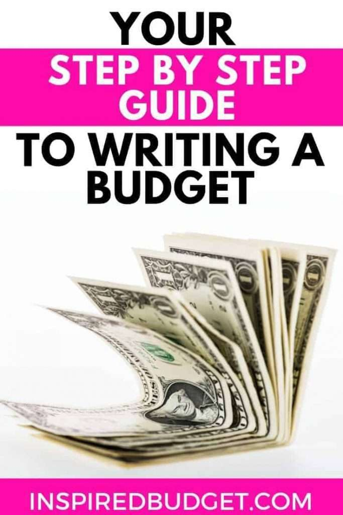 Making a Budget by InspiredBudget.com