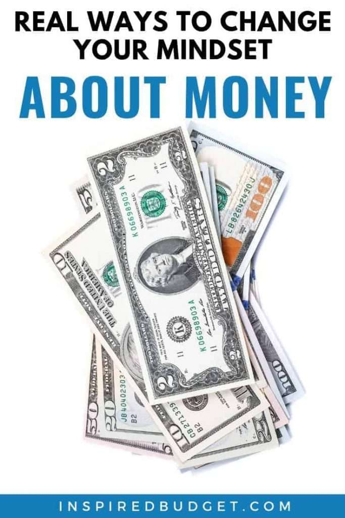 Change Your Mindset About Money by InspiredBudget.com