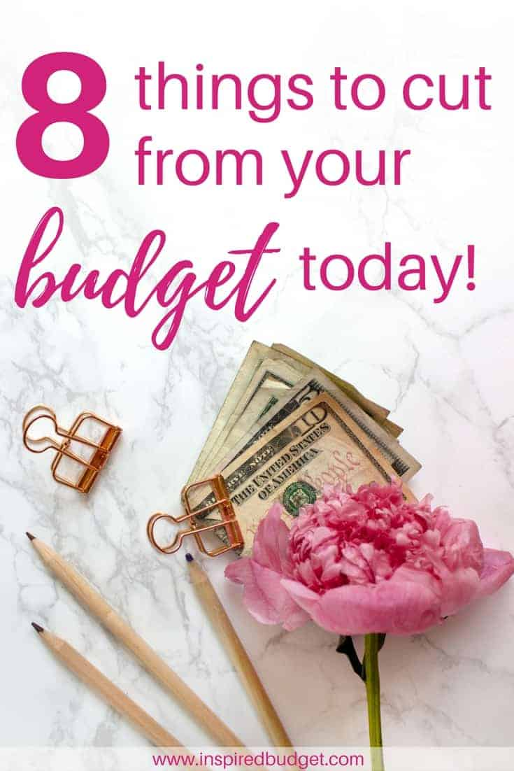 8 things to cut from your budget