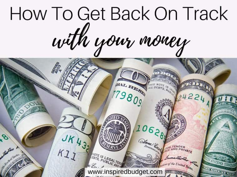 back on track with your money featured image