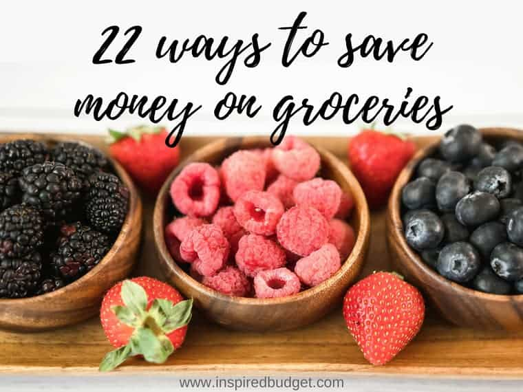 save money on groceries by inspiredbudget.com