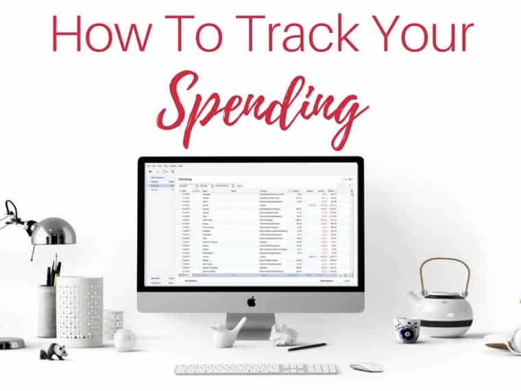 how to track your spending by inspiredbudget.com