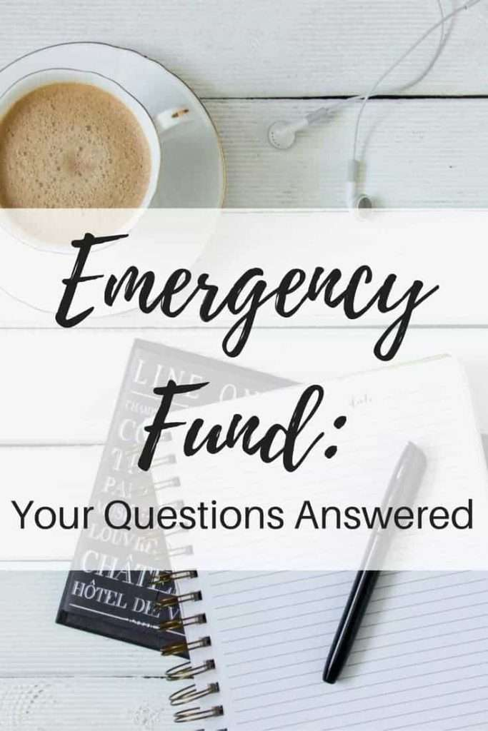Emergency Fund by inspiredbudget.com