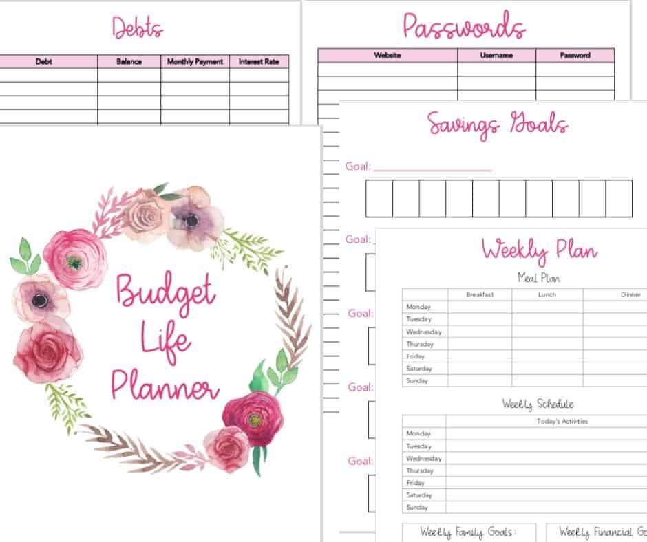 Budget Life Planner by Inspired Budget