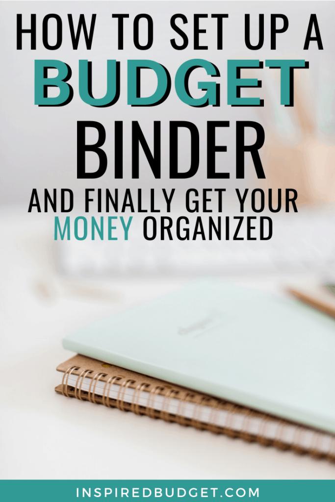 How To Set Up A Budget Binder