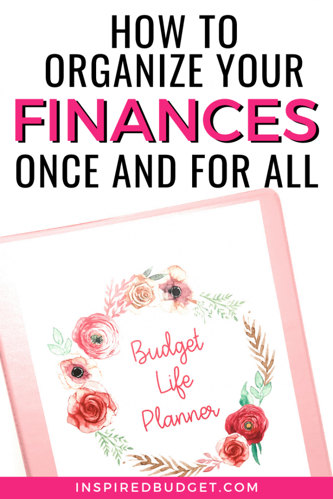 How To Organize Your Finances With A Budget Binder