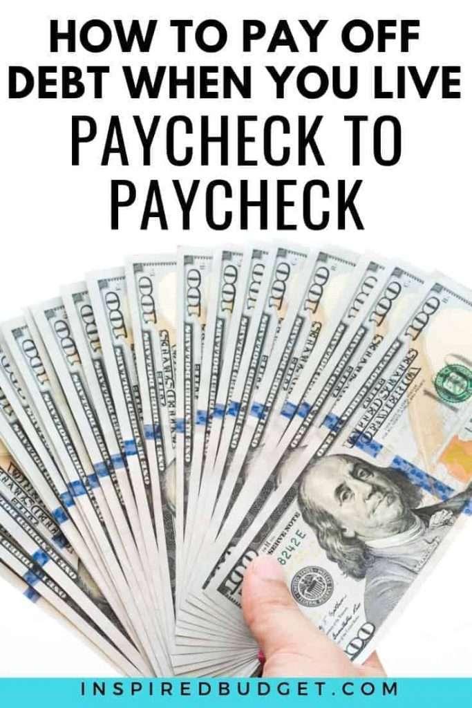 Pay Off Debt by InspiredBudget.com