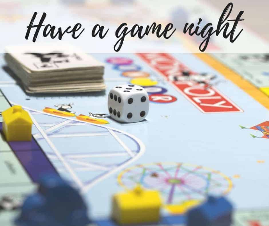Have a game night