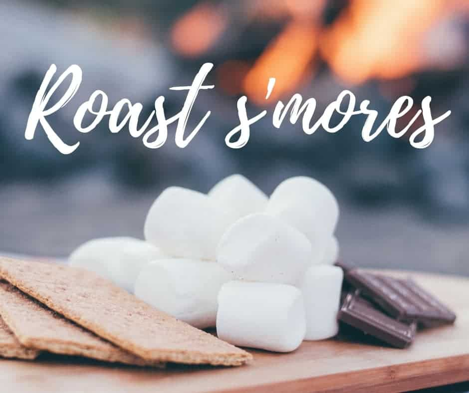 Roast s'mores