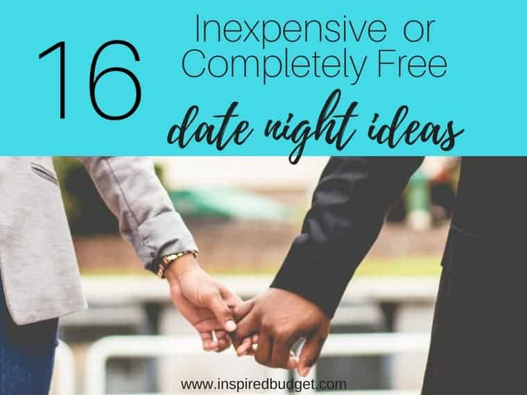 inexpensive date night ideas featured image
