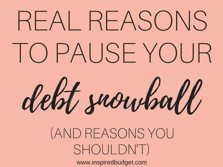 real reasons to pay off your debt snowball featured image