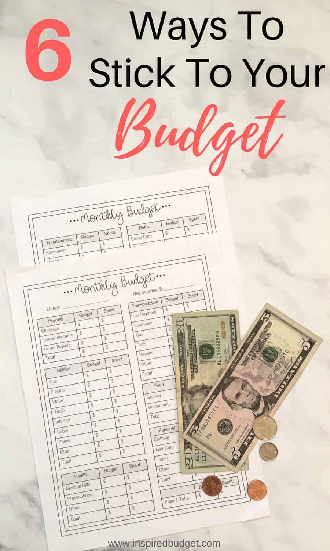 stick to your budget – Copy