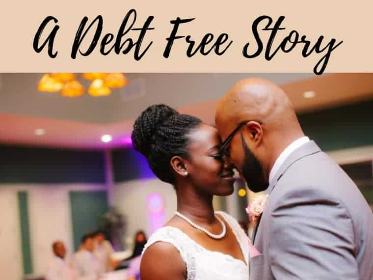 debt free story by inspiredbudget.com
