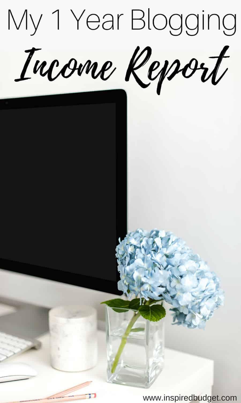 blogging income report