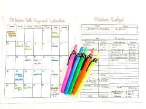 How to budget on a weekly income