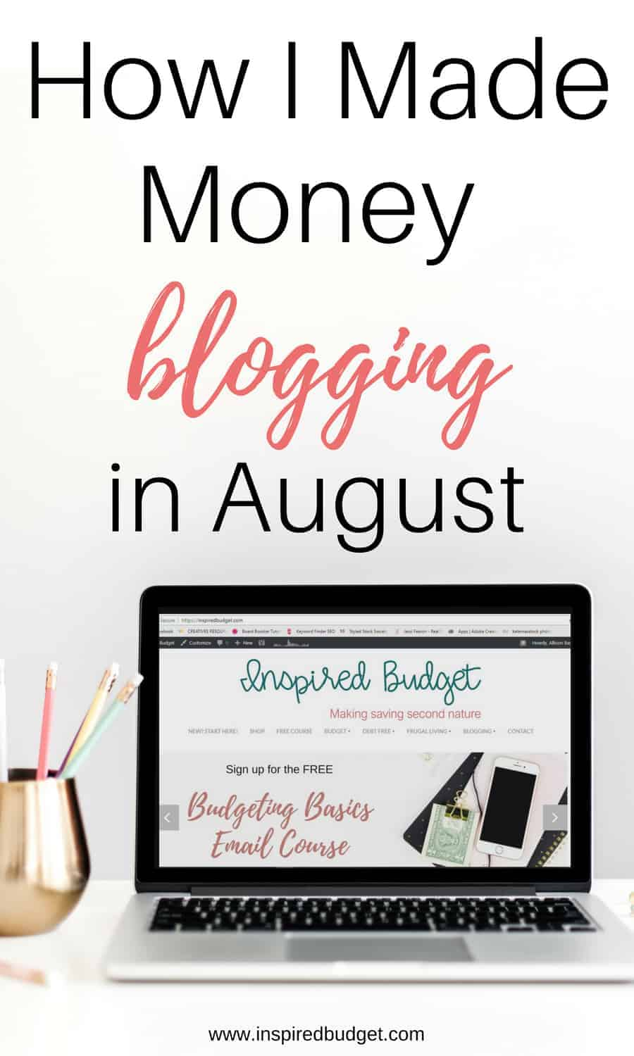 August blogging income report image 1