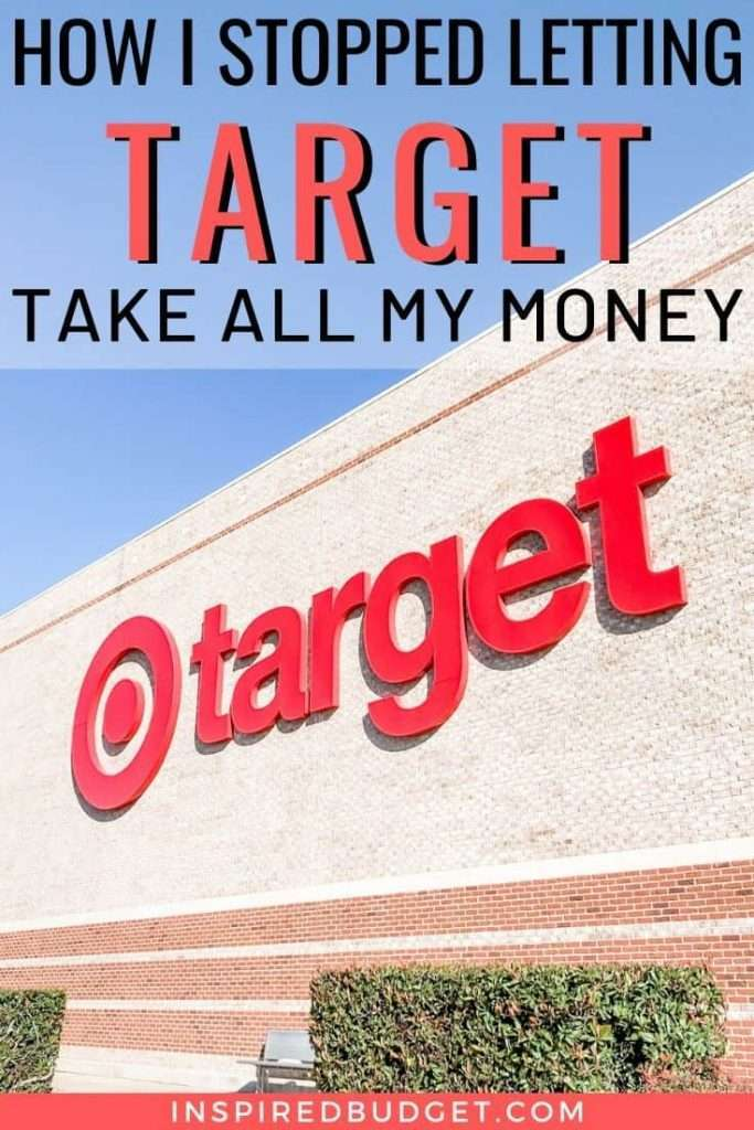 How I Stopped Letting Target Take All My Money