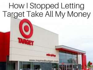 How I stopped letting Target take my money by inspiredbudget.com