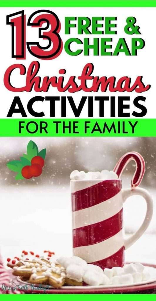 13 Family Christmas Activities For Every Budget Updated 2020 Inspired Budget