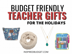 Best Teacher Gifts by InspiredBudget.com