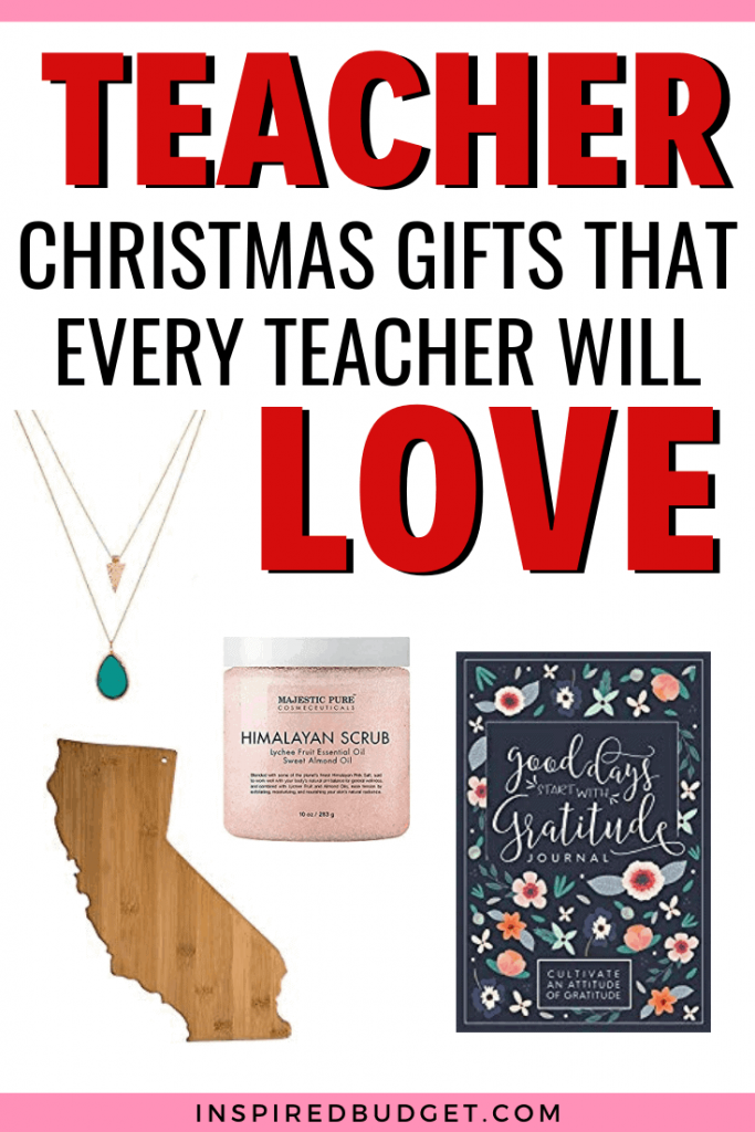 Budget Friendly Teacher Gifts by InspiredBudget.com