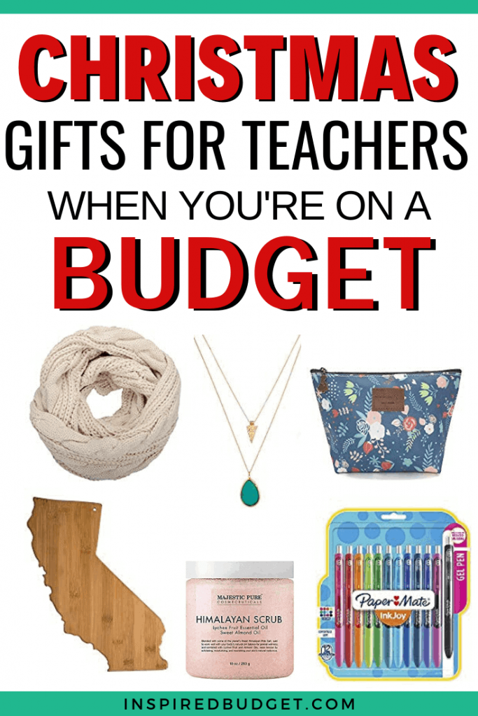 Teacher Gifts Ideas by InspiredBudget.com