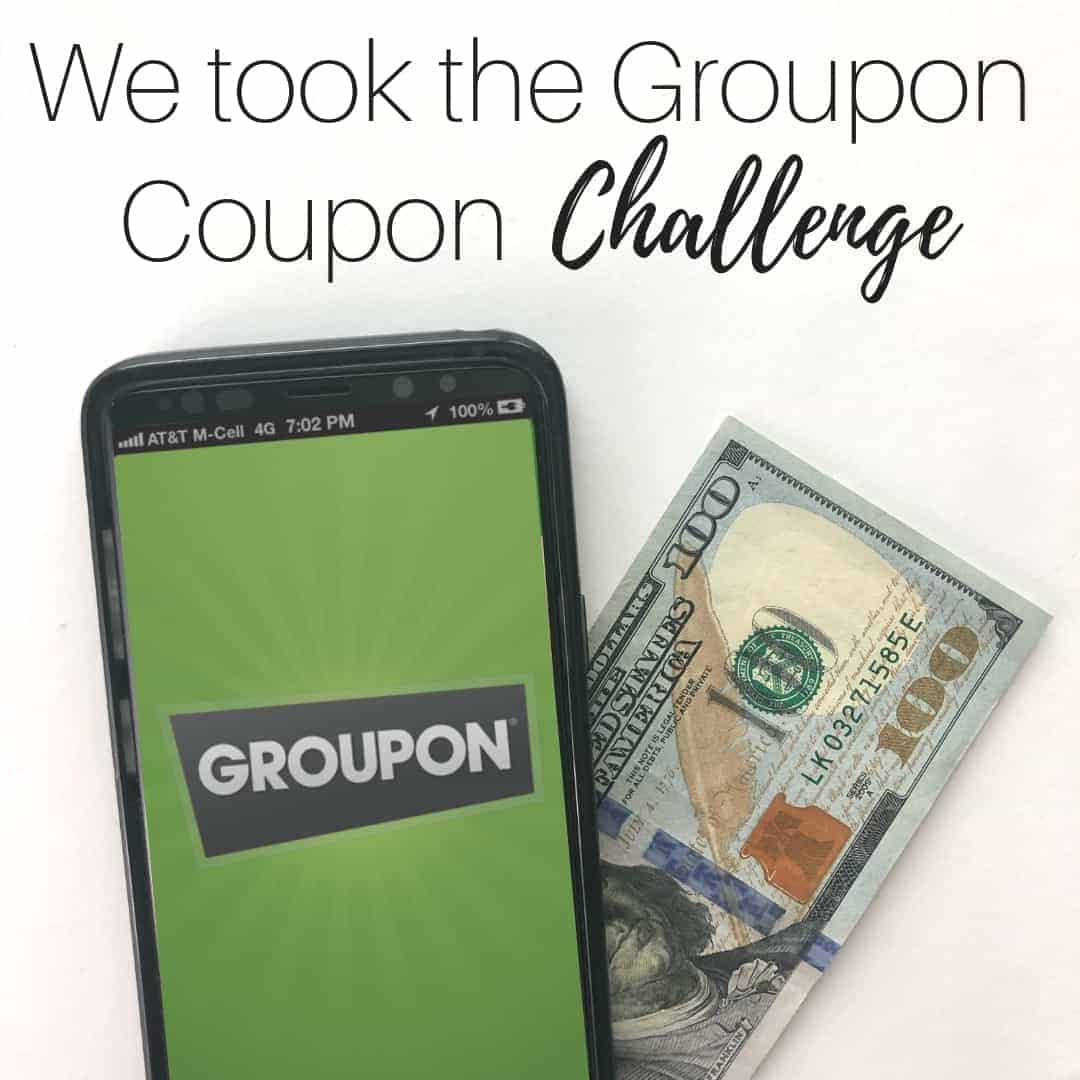 groupon coupon challenge instagram post