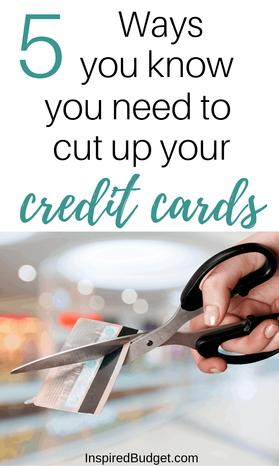 cut up credit cards image 1