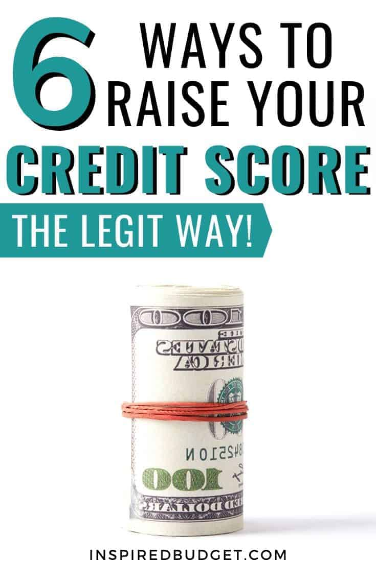 6 Ways To Raise Your Credit Score Image 1