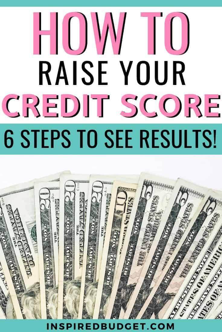 6 Ways To Raise Your Credit Score Image 2