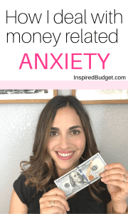 Money and Anxiety by InspiredBudget.com