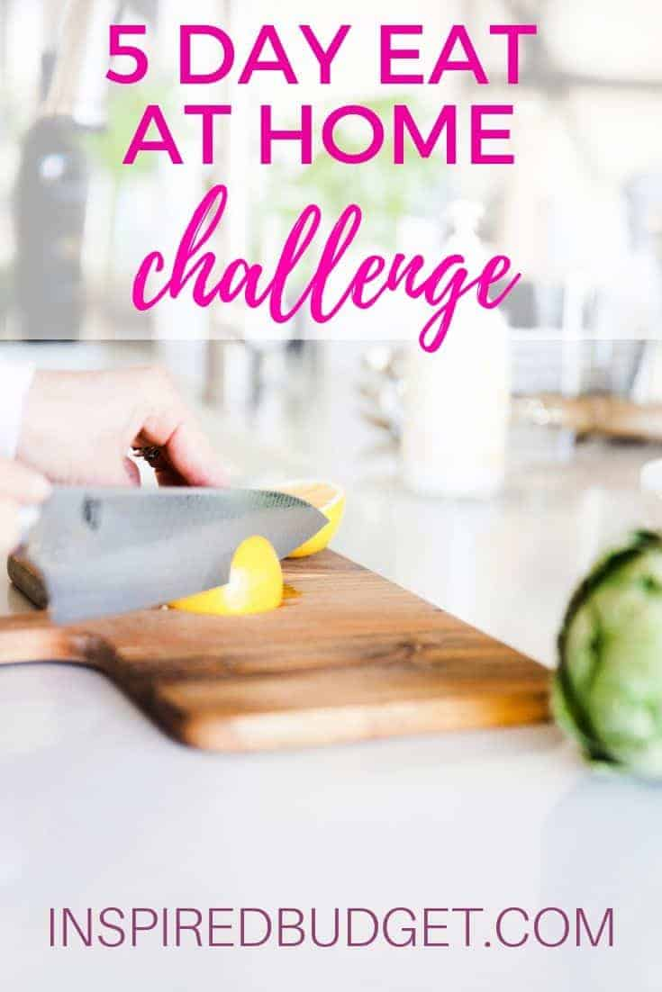 Eat at home challenge
