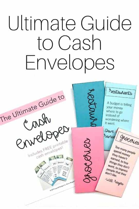 cash envelope guide image