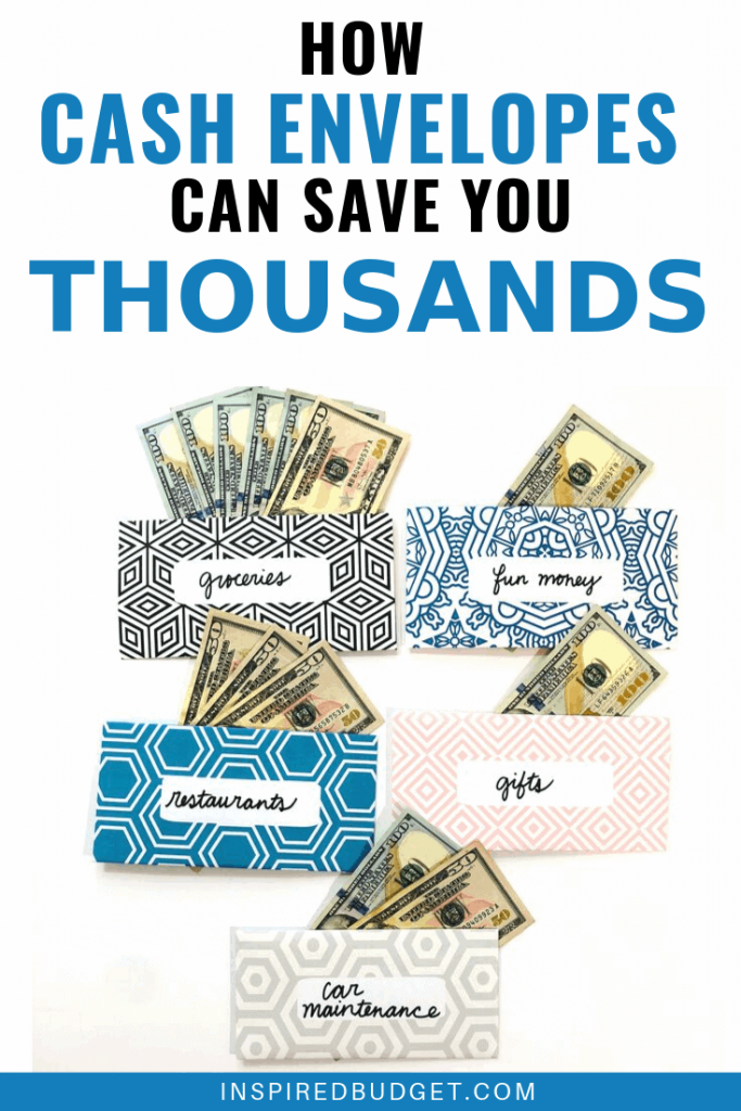 Cash Envelopes Can Save You Thousands by InspiredBudget.com