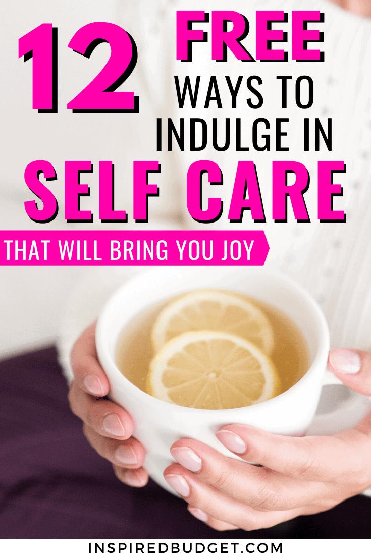 12 self care ideas image 1