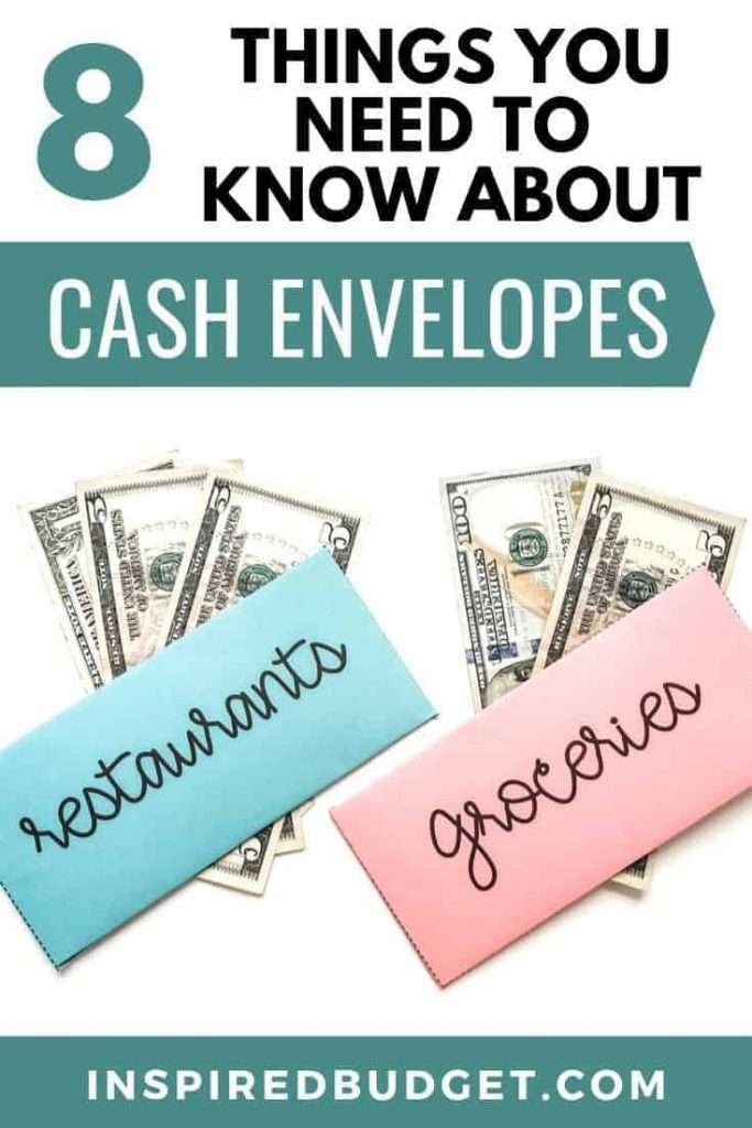 8 Things Everyone Should Know About Cash Envelopes by InspiredBudget.com