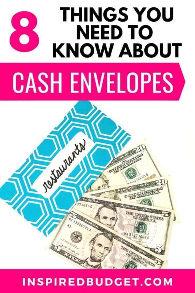 What You Need To Know About The Cash Envelope System by InspiredBudget.com