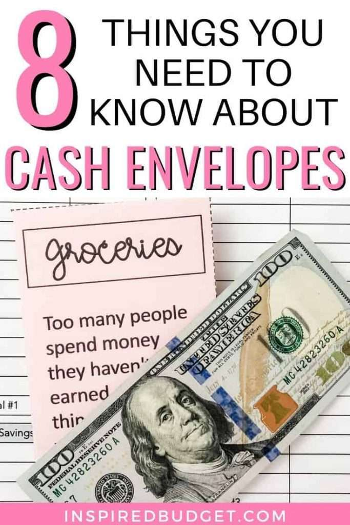 8 Things You Need To Know About Cash Envelopes