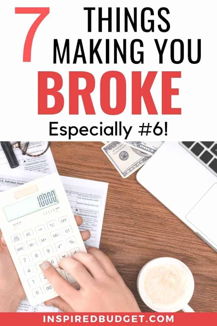 money habits making you broke 1