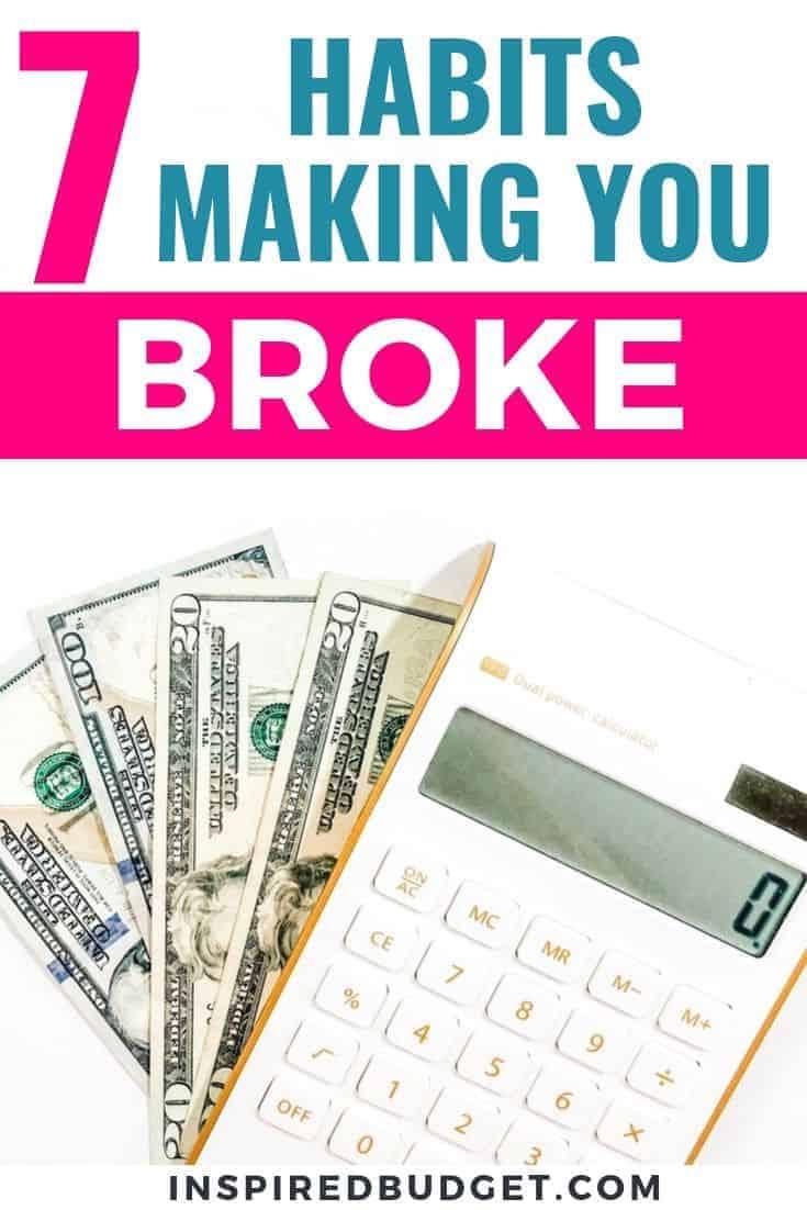 money habits making you broke 3