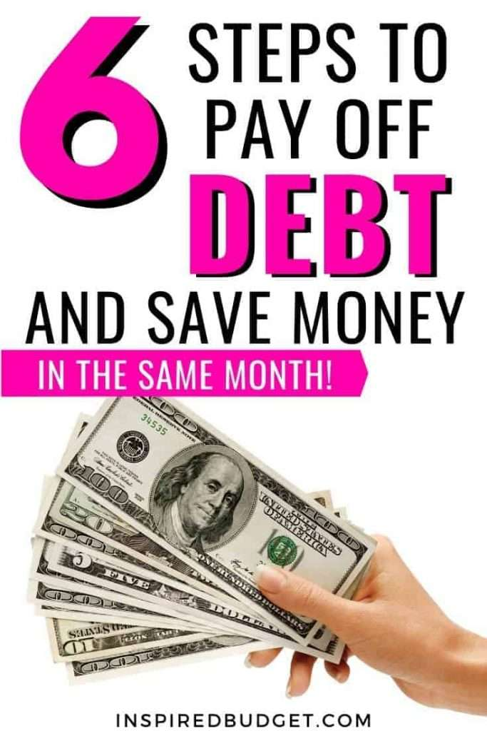 6 Ways To Pay Off Debt And Save Money by InspiredBudget.com