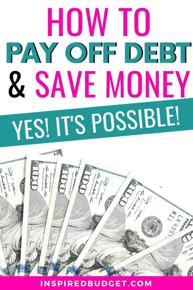 Pay Off Debt And Save Money Image 3