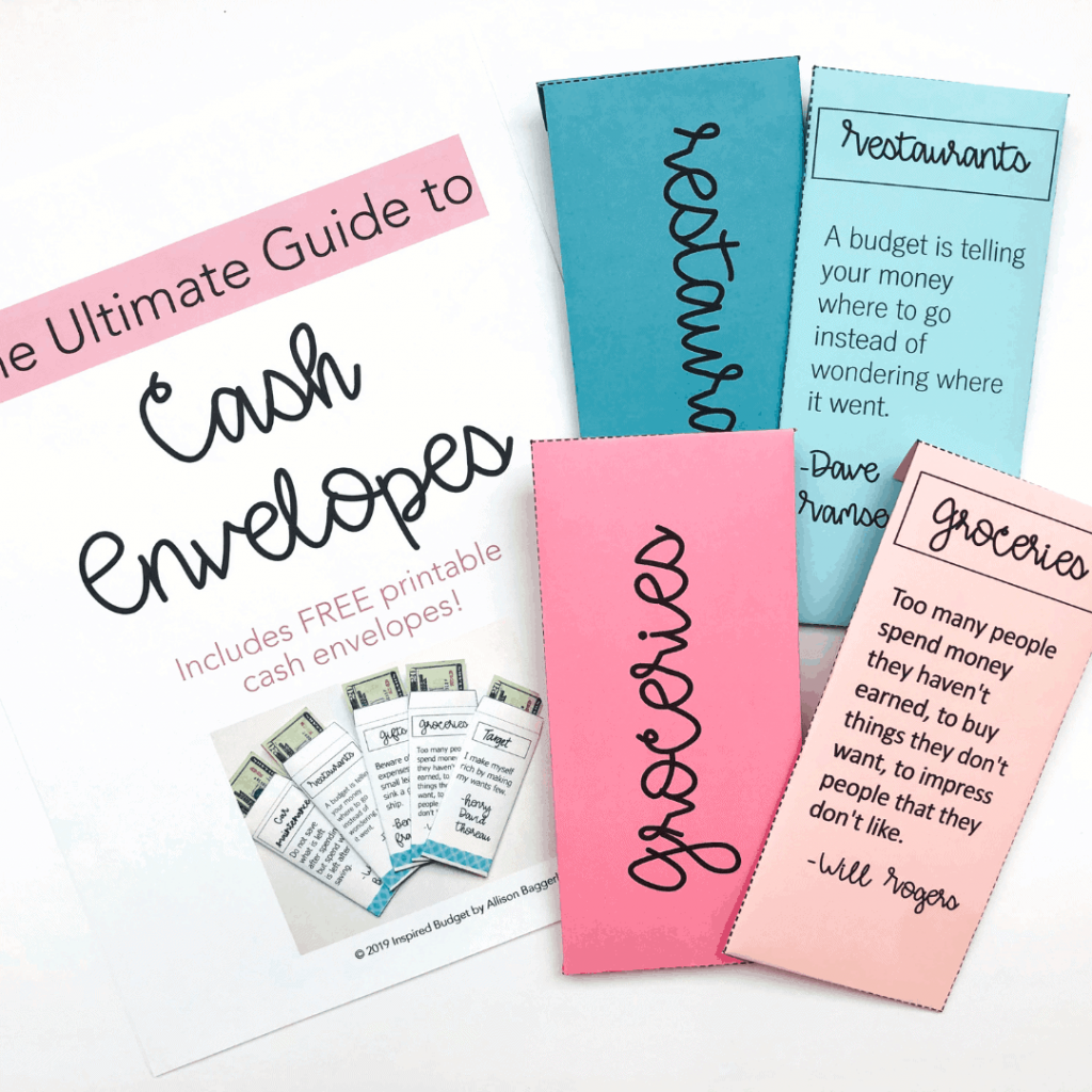 Cash Envelope Guide