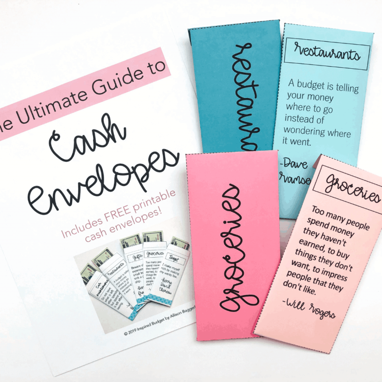 Cash Envelope Guide