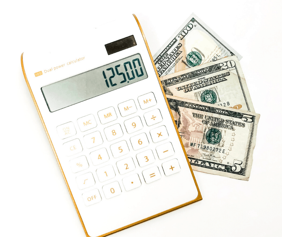 Money and Calculator by Inspired Budget