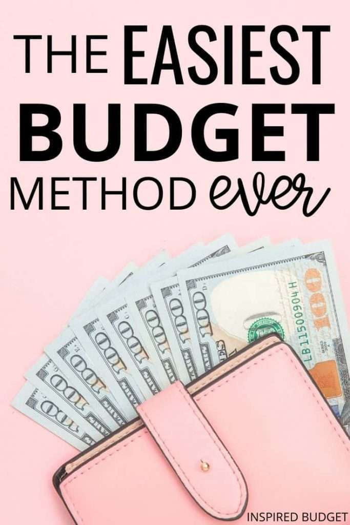 Budgeting doesn't have to be hard! This article breaks down the easiest way to start budgeting even if you're a budget beginner.